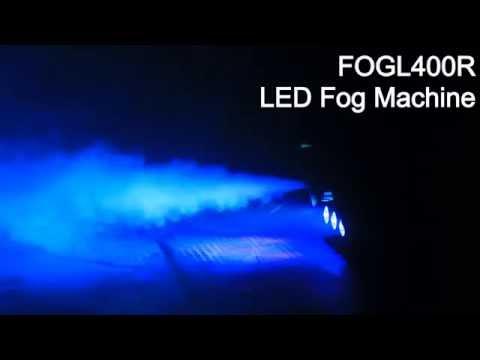 Technical Pro 500 Watt Fog Machine with Wireless Remote & Built-in LEDs