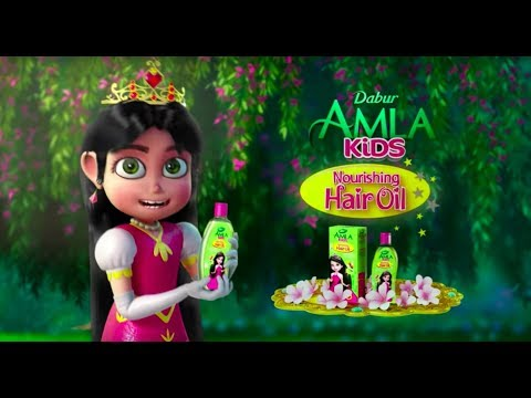 video Dabur Amla Kids Nourishing Hair Oil Review<span class=