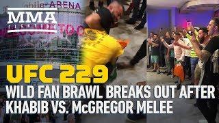 UFC 229: Wild Fan Brawl Breaks Out After Khabib vs. McGregor Melee - MMA Fighting