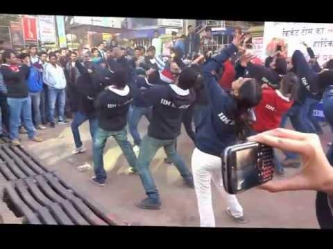 Flash Mob and Road Show By IIM Ranchi
