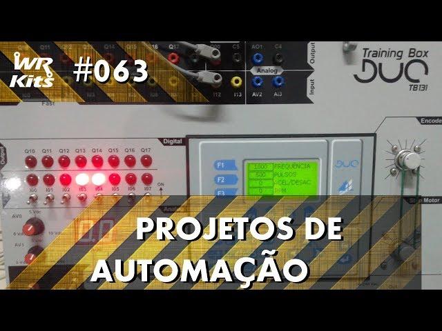 ELEVADOR DE DIVERSOS ANDARES COM CLP ALTUS DUO | Projetos de Automação #063