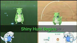 Shiny Sandshrew is in Japan, Alolan Sandshrew in Pokemon Go