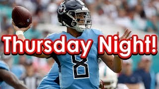 DraftKings Picks Week 14 NFL Thursday Night Football TNF Showdown