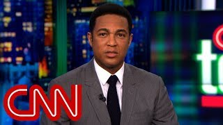 Don Lemon slams Trump over golf analogy