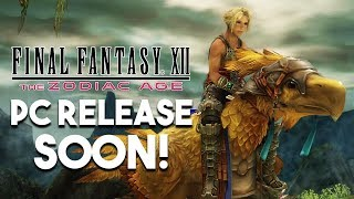 FINAL FANTASY XII COMING To PC! And DARK SOULS Remaster!