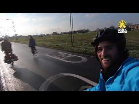 為看世界盃橄欖球賽 2男挑戰倫敦騎自行車到東京【大千世界】瘋狂球迷|橄欖球員