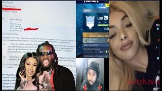 Proud IG TH0T Celina Powell gets caught LYING about Offset~ she copied her BFF's dna papers
