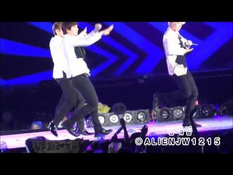 120818 SMTOWN LIVE WORLD TOURⅢ 슈퍼주니어 - 태완미