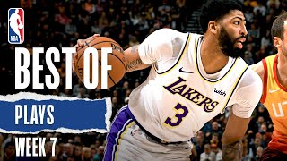 NBA's Best Plays From Week 7 | 2019-20 NBA Season