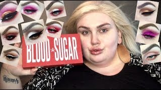JEFFREE STAR BLOOD SUGAR 10 Looks 1 Palette