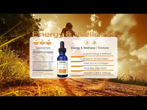video Energy & Wellness | Tincture 1200mg