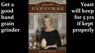 ACU 1308 Wendy Dewitt Sensible food storage