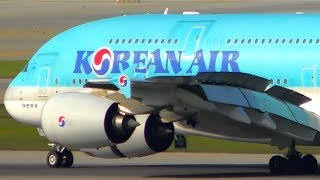 10 HUGE PLANES Landing From VERY CLOSE UP | Seoul Airport Plane Spotting