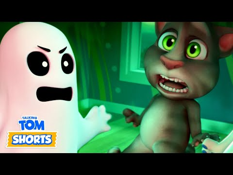 Talking Tom Shorts 37 - Scary Movie
