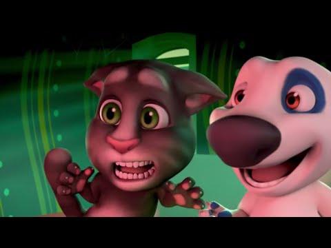 Talking Tom Shorts 37 - Scary Movie