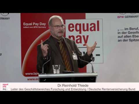 Reinhold Thiede | Equal Pay Day Forum am 03.11.2015 im BMFSFJ, Berlin