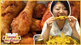 Best KOREAN FRIED CHICKEN in Korea 🍗 Late Night Seoul Food Tour
