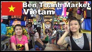 Bến Thành Sài Gòn Market / Ho Chi Minh City, Vietnam 2017