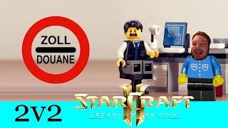 Zalrocks spannende Zollgeschichte - Starcraft 2: Legacy of the Void 2v2 [Deutsch | German]