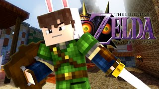 Legend of Zelda Majoras Mask - The First Day! (Minecraft Roleplay) #1