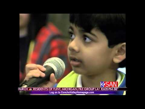 Akash Story  on Local NBC News Channel - March 7th 2016