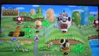 New Super Mario Bros. Wii - World 1-3 1-Cannon