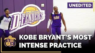 Kobe Bryant Trashtalking At Lakers Practice (EXPLICIT, Unedited)