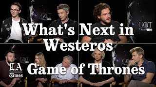 Seeing The Future of Game Of Thrones   Los Angeles Times
