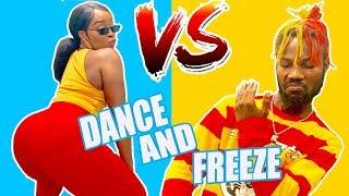 FREEZE DANCE CHALLENGE (COUPLE EDITION)
