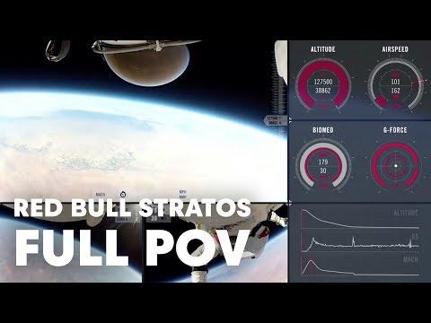 Red Bull Stratos, la vidéo embarquée