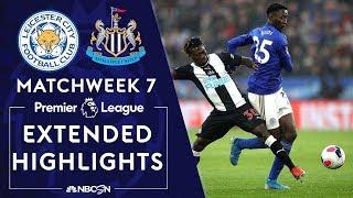 Leicester City v. Newcastle | PREMIER LEAGUE HIGHLIGHTS | 9/29/19 | NBC Sports