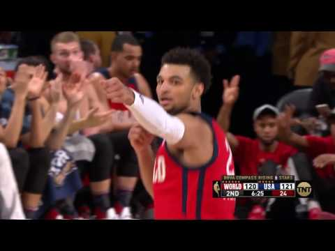 Jamal Murray Hits 9 3-Pointers On His Way to BBVA Rising Stars MVP!!!