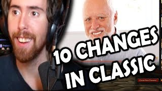 """Asmongold Reactions: """"Top 10 Differences Between WoW Classic & The Original Release"""" by MadSeason"""