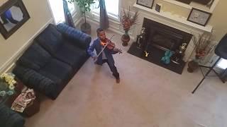 """""""Stronger"""" / Kelly Clarkson / violin cover / Tyler Butler-Figueroa before AGT"""