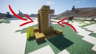 Xây Căn Nhà 2x2 Block Nhưng Có Đầy Đủ Tiện Nghi Trong Minecraft