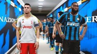 Inter Milan vs Juventus ( LUKAKU Scored a Goal ) | PES 2019
