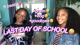LAST DAY OF SCHOOL GRWM + VLOG 2019 🎈
