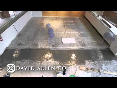 Terrazzo Timelapse - NC State College of Design in Raleigh, NC