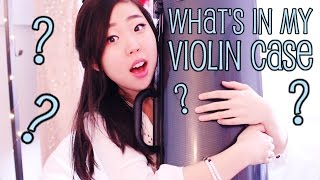 What's in my Violin Case?! | Esther Hwang