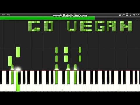 Триада - Паранойя (как играть на пианино) + MIDI