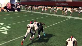 Can the Worst RB in the NFL Throw a 99yd TD Pass to the Worst QB Against Aqib Talib? Madden 16