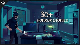 2 HOURS OF HORROR ANIMATED STORIES (Compilation Jan - Apr 2020)