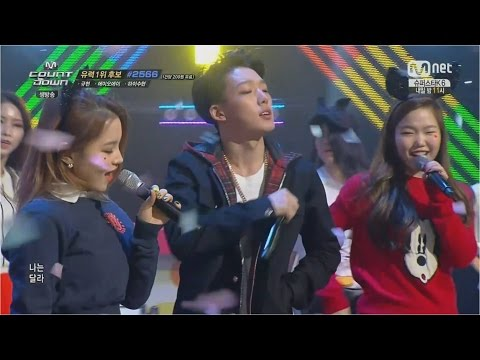 HI SUHYUN - '나는 달라(I'M DIFFERENT)' (feat.BOBBY) 1120 M COUNTDOWN