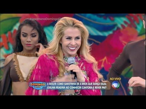Joelma canta novo sucesso Game Over no Domingo Show