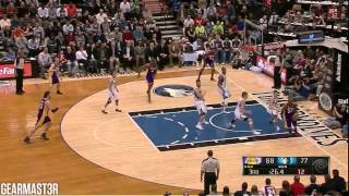 Los Angeles Lakers vs Minnesota Timberwolves Full Highlights (2013.03.27)