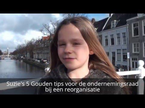 OR TV aflevering 2: Suzie's 5 Gouden tips voor de ondernemingsraad - Reorganisaties