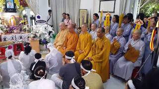 Trực tiếp Lễ Động Quan, NSUT Thanh Sang, sáng 25.4.2017(1)
