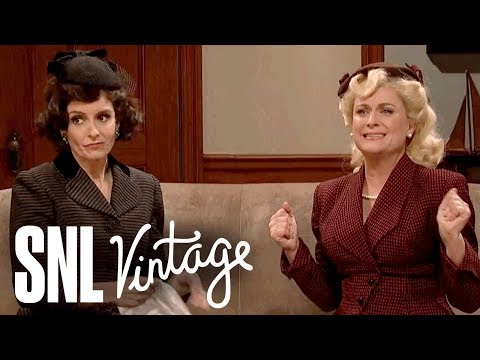 Movie Set with Tina Fey & Amy Poehler - SNL