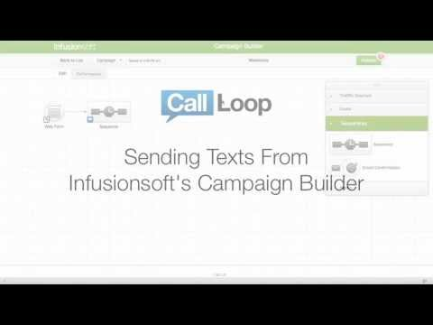 Infusionsoft SMS & The Campaign Builder