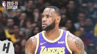 New Orleans Pelicans vs Los Angeles Lakers - Full Highlights | Feb 27, 2019 | 2018-19 NBA Season